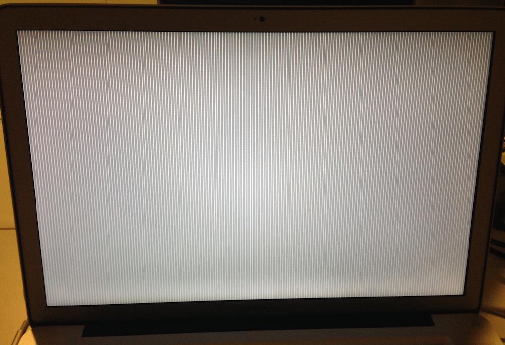 Žádný obraz na displeji MacBooku Pro