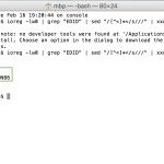 Jak rozpoznat výrobce displeje u MacBooku Pro Retina 15 z roku 2012