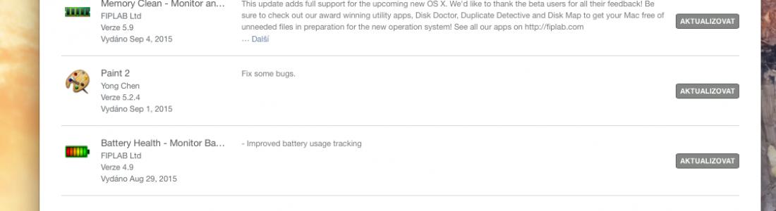 Jak povolit automatické aktualizace aplikací prostřednictvím Mac App Store v OS X?