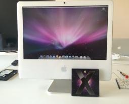 Zrychlení deset let starého iMacu G5 výměnou disku za SSD