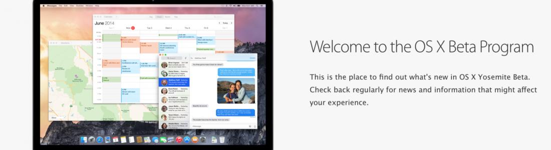 Jak zaregistrovat Mac do veřejného BETA testování softwaru.