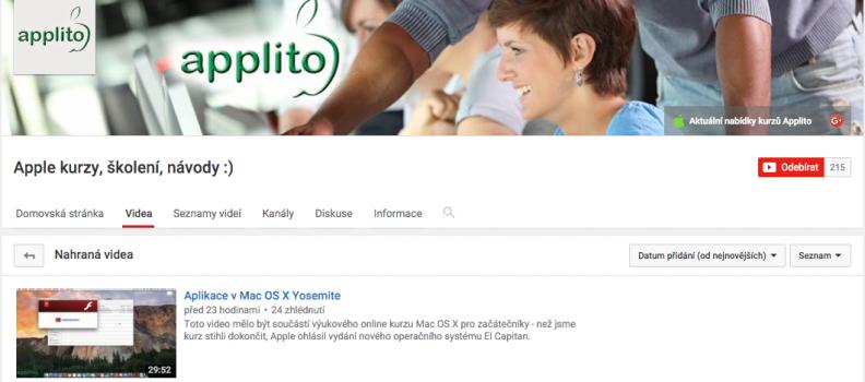 Zapomenuté video Mac OS X pro začátečníky – prostředí Mac OS